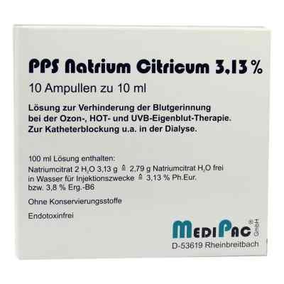 Natriumcitrat 3,13% Ampullen  bei Apotheke.de bestellen
