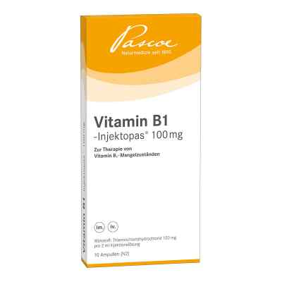 Vitamin B1 Injektopas 100 mg Injektionslösung  bei Apotheke.de bestellen