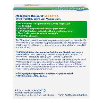 Magnesium Diasporal 400 Extra Trinkgranulat  bei Apotheke.de bestellen