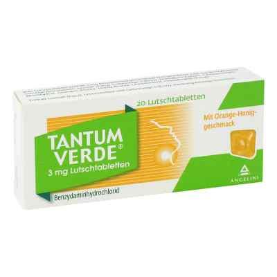 Tantum Verde 3 mg Lutschtabletten Orange-Honiggeschmack  bei Apotheke.de bestellen