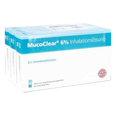 Mucoclear 6% Nacl Inhalationslösung  bei Apotheke.de bestellen
