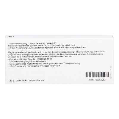 Reticuloendotheliales Sys. Gl D30 Ampullen  bei Apotheke.de bestellen