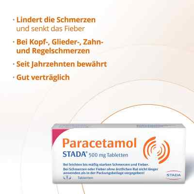 Paracetamol STADA 500mg  bei Apotheke.de bestellen