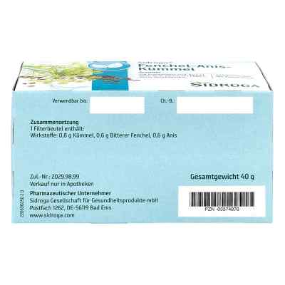 Sidroga Fenchel Anis Kümmel Tee Filterbeutel  bei Apotheke.de bestellen