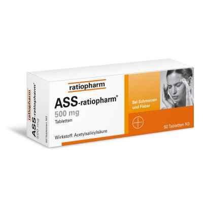 ASS-ratiopharm 500mg  bei Apotheke.de bestellen