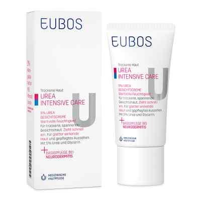 Eubos Trockene Haut Urea 5% Gesichtscreme  bei Apotheke.de bestellen