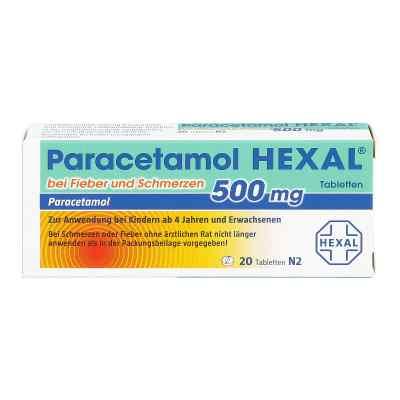 Paracetamol 500mg HEXAL bei Fieber und Schmerzen  bei Apotheke.de bestellen