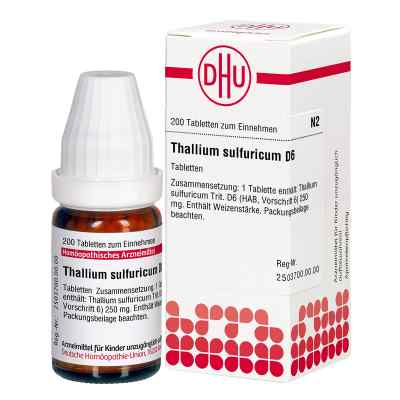 Thallium Sulf. D6 Tabletten  bei Apotheke.de bestellen