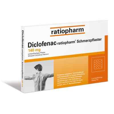 Diclofenac-ratiopharm Schmerzpflaster 140mg  bei Apotheke.de bestellen
