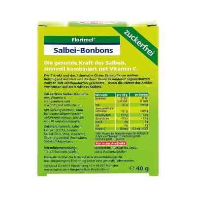 Florimel Salbeibonbons mit Vitaminen C zuckerfrei  bei Apotheke.de bestellen