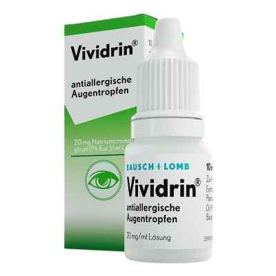 Vividrin antiallergische Augentropfen  bei Apotheke.de bestellen
