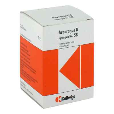 Synergon 58 Asparagus N Tabletten  bei Apotheke.de bestellen