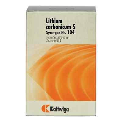 Synergon 104 Lithium carb. S Tabletten  bei Apotheke.de bestellen