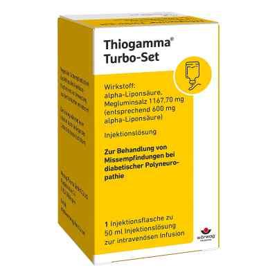 Thiogamma Turbo Set Pur Injektionsflaschen  bei Apotheke.de bestellen