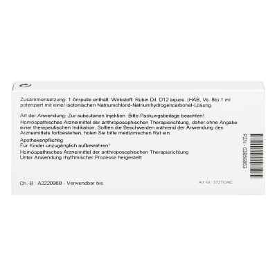 Rubin D12 Ampullen  bei Apotheke.de bestellen