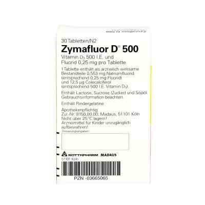 Zymafluor D 500  bei Apotheke.de bestellen