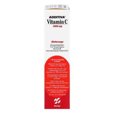 Additiva Vitamin C Blutorange Brausetabletten  bei Apotheke.de bestellen