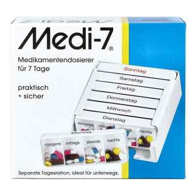 Medi 7 Medikamenten Dosierer für 7 Tage  bei Apotheke.de bestellen