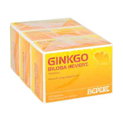 Ginkgo Biloba Hevert Tabletten  bei Apotheke.de bestellen