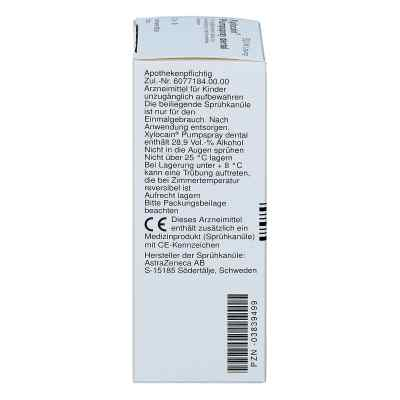 Xylocain Pumpspray Dental  bei Apotheke.de bestellen