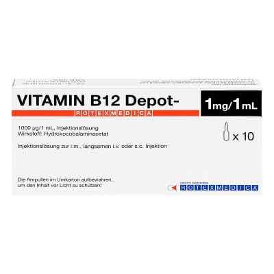 Vitamin B12 Depot Rotexmedica Injektionslösung  bei Apotheke.de bestellen