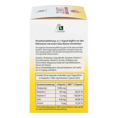 Zimt Kapseln 500 mg+Vitamin C+e  bei Apotheke.de bestellen