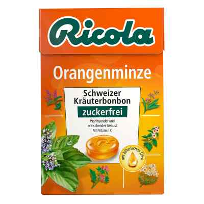 Ricola ohne Zucker Box Orangenminze Bonbons  bei Apotheke.de bestellen