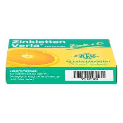 Zinkletten Verla Orange Lutschtabletten  bei Apotheke.de bestellen