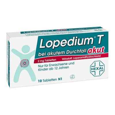 Lopedium T akut bei akutem Durchfall bei Apotheke.de bestellen