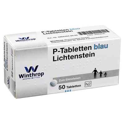P Tabletten blau 8 mm Teilk.  bei Apotheke.de bestellen