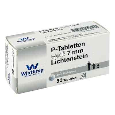 P Tabletten weiss 7 mm Teilk.  bei Apotheke.de bestellen