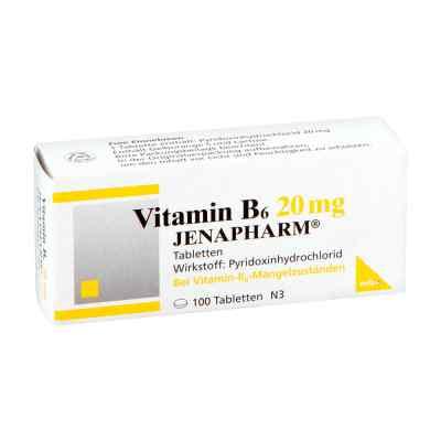 Vitamin B6 20 mg Jenapharm Tabletten  bei Apotheke.de bestellen
