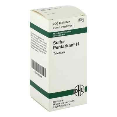 Sulfur Pentarkan H Tabletten  bei Apotheke.de bestellen