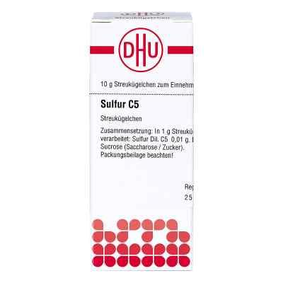 Sulfur C 5 Globuli  bei Apotheke.de bestellen