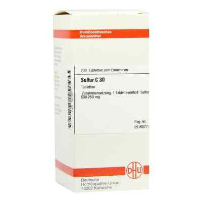 Sulfur C30 Tabletten  bei Apotheke.de bestellen