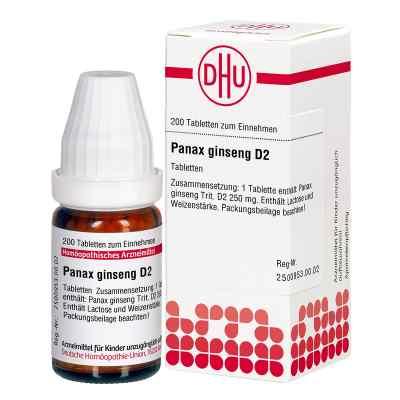 Panax Ginseng D2 Tabletten  bei Apotheke.de bestellen