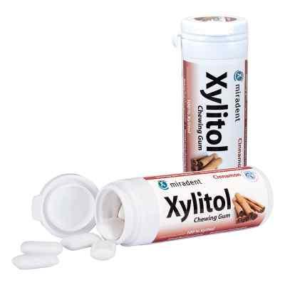 Miradent Zahnpflegekaugummi Xylitol Zimt  bei Apotheke.de bestellen