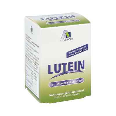 Lutein Kapseln 6 mg + Heidelbeer  bei Apotheke.de bestellen