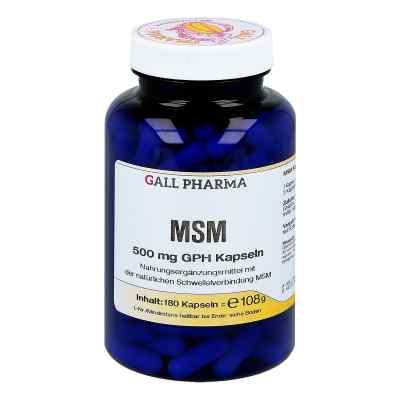 Msm 500 mg Gph Kapseln  bei Apotheke.de bestellen