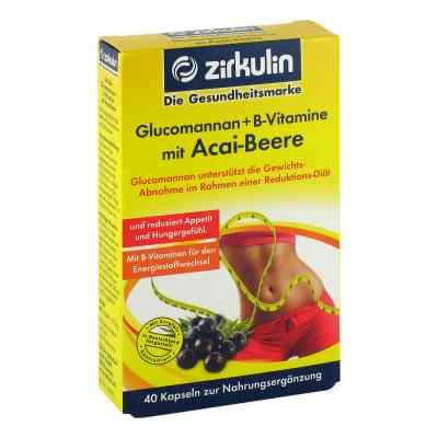 Glucomannan + B-vitamine mit Acai-beere Kapseln  bei Apotheke.de bestellen