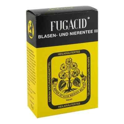 Fugacid Blasen- und Nierentee III