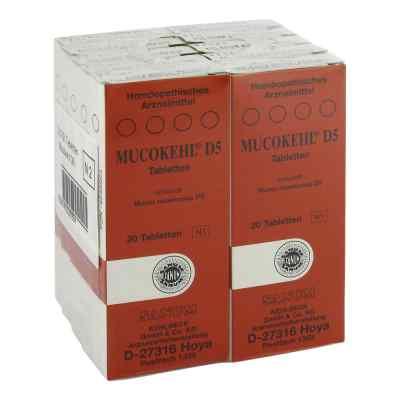 Mucokehl Tabletten D5  bei Apotheke.de bestellen