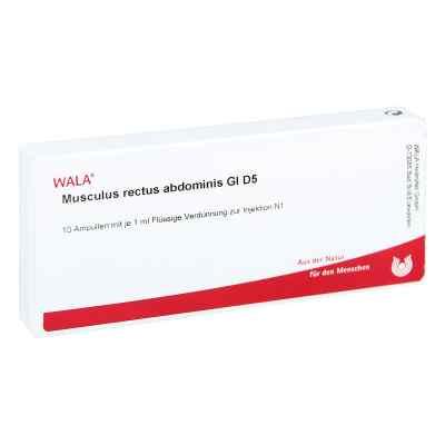 Musculus Rect.abdominis Gl D5 Ampullen  bei Apotheke.de bestellen