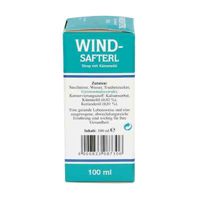 Windsafterl mit Kümmelöl  bei Apotheke.de bestellen