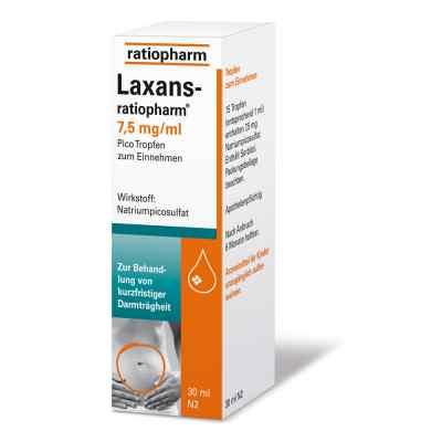 Laxans-ratiopharm 7,5mg/ml Pico  bei Apotheke.de bestellen