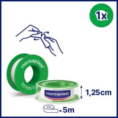 Hansaplast Fixierpflaster sensitive 5mx1,25cm  bei Apotheke.de bestellen