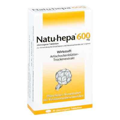Natu-hepa 600mg  bei Apotheke.de bestellen