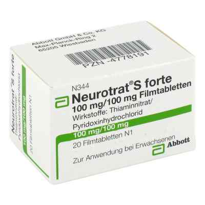 Neurotrat S forte Filmtabletten  bei Apotheke.de bestellen