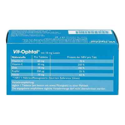 Vit Ophtal mit 10 mg Lutein Tabletten  bei Apotheke.de bestellen