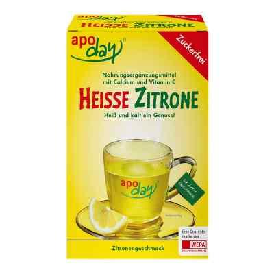 Apoday Heisse Zitrone Vitamine c und Calcium ohne Zucker  Plv